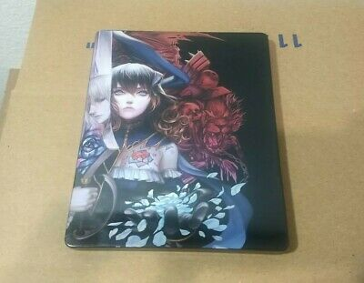 Bloodstained Ritual of The Night Steelbook Case Only No Game