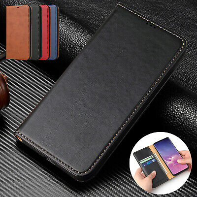 For Galaxy A70 A50 A30 A20 S10 Plus S10e Case Magnetic Flip Leather Wallet Cover
