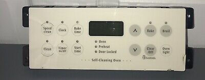 FRIGIDAIRE OVEN CONTROL Board Part Number 318010102 Can Replace