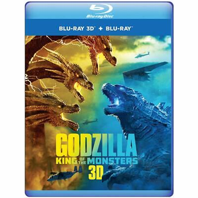 Godzilla King of the Monsters (Blu-ray 3D + Blu-ray + Digital) Kyle Chandler New