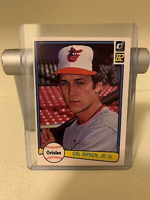 1982 Cal Ripken Jr Rookie Baseball Card Set Baseball Don Russ Fleer Topps