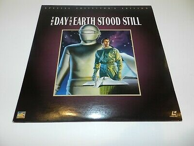 The Day The Earth Stood Still Collector's Edition LaserDisc Laser Disc Tested