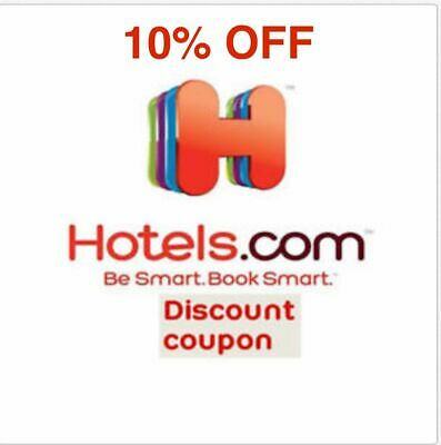 10% off promo code Hotels.com Hotels com Hotel Discount codes Save Travel 10%Off