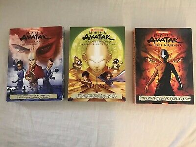 AVATAR : THE Last Airbender (Eng Aud) - Complete Anime Tv Series Dvd