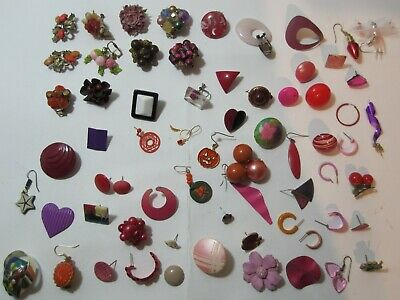 Jewelry Women's JUNK DRAWER a Little Bit of Everything RED Lot # 5