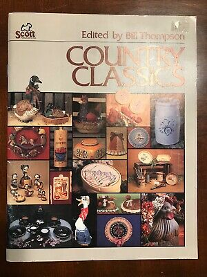Scott Publications Country Classics Ceramic Painting Guide Clay Carbon Paper