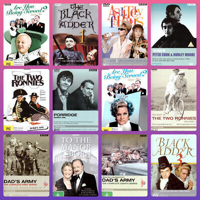 British Comedy DVD BBC Mixed TV Series Titles Priced $6.99 British Comedy Sale