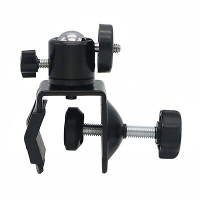 "Photo Studio U Clip C Clamp w1/4"" Ball Head Bracket for Came Flash Light Stan vz"