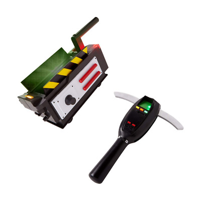 Ghostbusters Ghost Trap & PKE Meter Spirit Halloween Costume Replica Lights Up