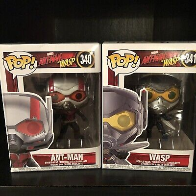 funko pop marvel ant man and the wasp lot