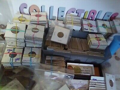 Vintage U.S. Coin Collection Lot Of 73 Coins - INDAI HEAD, WHEAT ROLL & SILVER +
