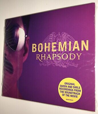 Bohemian Rhapsody Film Soundtrack CD w/ Slipcase May Mercury Taylor Queen 2018