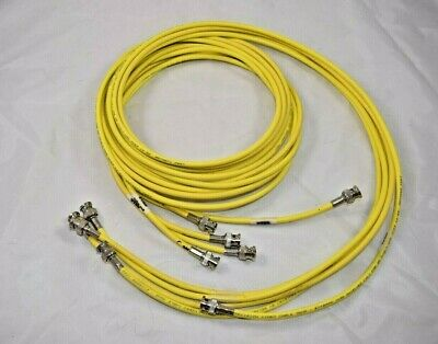 5 Pack BELDEN 1505A RG-59 HDTV SDI  Video  4.5GHZ  BNC Male to BNC  cable  1FT