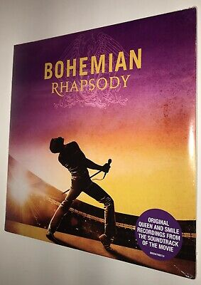 Bohemian Rhapsody Film Soundtrack 2x LP Gatefold May Mercury Taylor Queen 2018