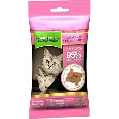 Natures Menu Chicken with Liver Cat Treats | Cats