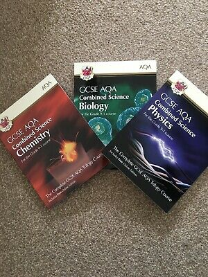 GCSE AQA Combined Science Grade 9-1 Triology Biology, Physics, Chemistry.