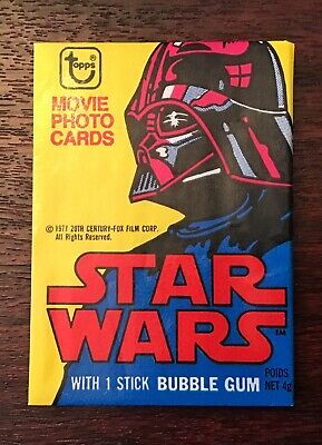 1977 Topps Star Wars Series 2 Complete Set - Cards - Stickers - Wrapper