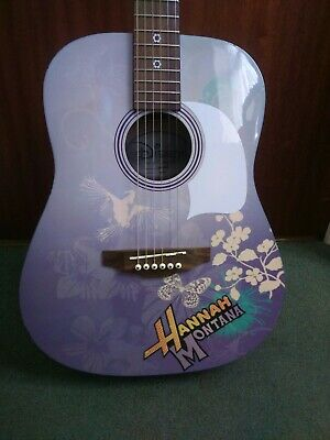 Hannah Montana Disney By Washburn Acoustic Guitar 3/4 Size