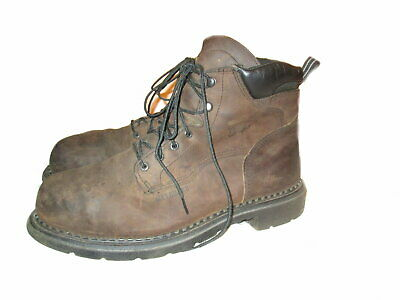 176f1b634ee RED WING BOOTS King Toe 3530 Mens Metatarsal Safety Work US Size 9.5 ...