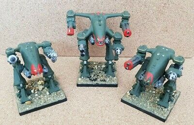 Space Crusade - Vintage Chaos Dreadnoughts x 3
