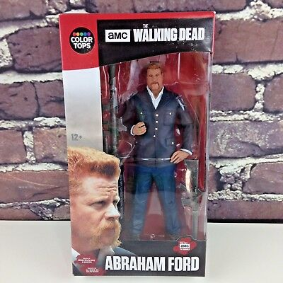 """The Walking Dead McFarlane Toys Abraham Ford 7"""" Color Tops #7 Action Figure"""