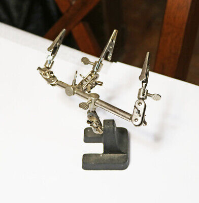 Jewelry Clip Vise Holder Jewel Tool on Base