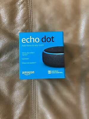 Amazon Echo Dot Latest 2018 (3rd Generation) Smart speaker Alexa