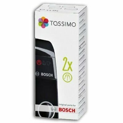 2 X Tassimo Bosch Coffee Machine / Espresso Maker Descaling Tablets