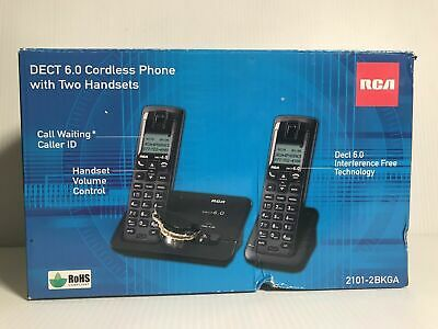 RCA DECT 6 0 Cordless Phone With 2 Handsets - 1 Each