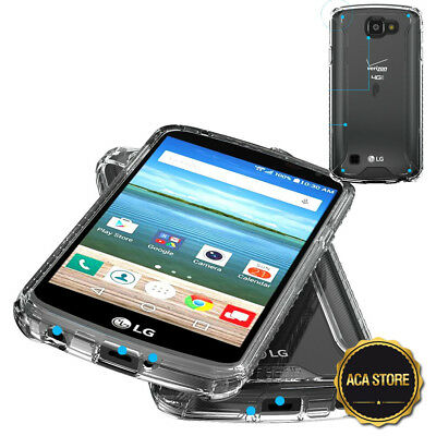 Lightweight Case For LG Optimus Zone 3 /LG K4 Slim Hybrid Protection Cover Clear