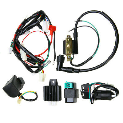 Kit Wiring Harness Shell Accessories Replacement Ignition Coil Rectifier