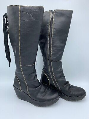 228806 Tan Boots Cath Fly Brown London Tall Women's Leather dBoeCx
