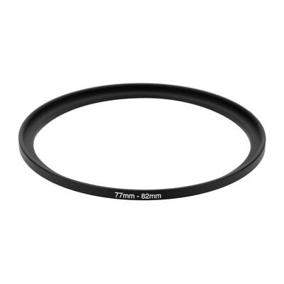 77mm-82mm 77 to 82 Step Up Ring Filter Stepping Adapter vz