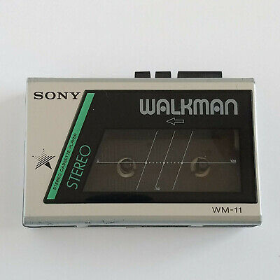 Sony Walkman WM 11 Stereo Cassette Player Portable Tested