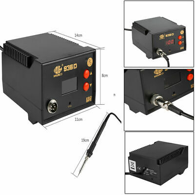 2in1 Soldering Iron Rework Station Air Gun Solder Welder 936D  Digital Display