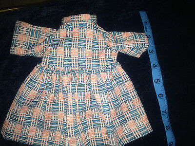 """Clothes retro Dress 1970s style Fits 18"""" American Girl Doll or madame alexander"""