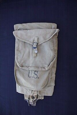 WWI / WWII M-1910 or M-1928 Haversack [It is a mix bag great for a reactor]