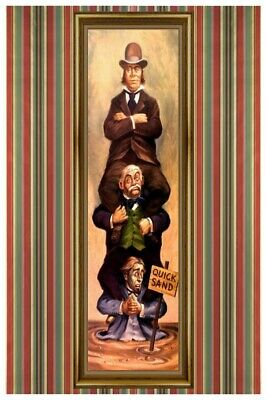 Haunted Mansion Stretching Room Quick Sand Collector Poster (B2G1 Free!)