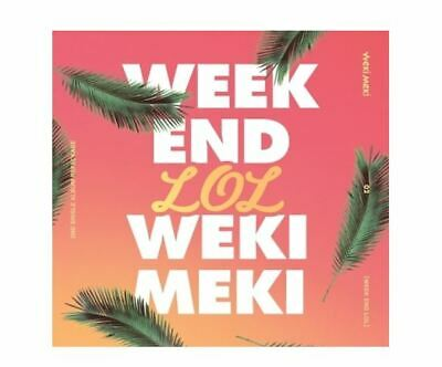 Weki Meki 2nd Single Album Repackage - WEEK END LOL CD + Poster