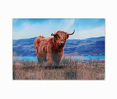 placemat Cow glass chopping board pot stand contemporary picture