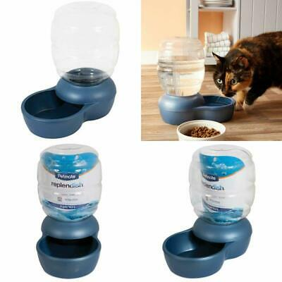 Pet Water Fountain For Cat Dog Automatic Waterer Dish Bowl Feeder Dispenser 4GAL