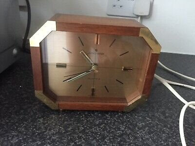 Junghans Wooden Mantle Clock Vintage