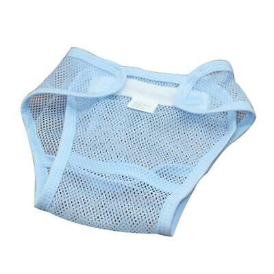 High Quality Baby Infant Breathable Hook Loop Diaper Nappy Underwear Pant Blue L