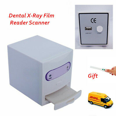 Dental X-Ray Film Reader Scanner Digital Image Converter+Intraoral Camera Kit