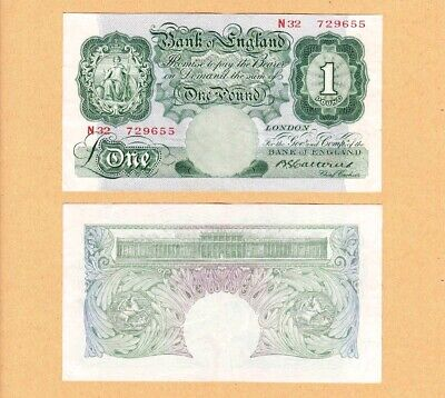 CATTERNS ND1930 £1 ONE POUND BRITANNIA BANKNOTES VF/EF Multi-Listing