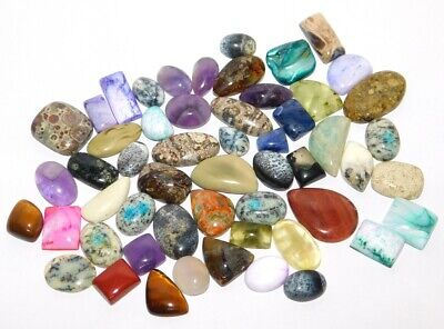 Mix Stone Natural Cabochon Loose Gemstone Lot 518Cts. 37759
