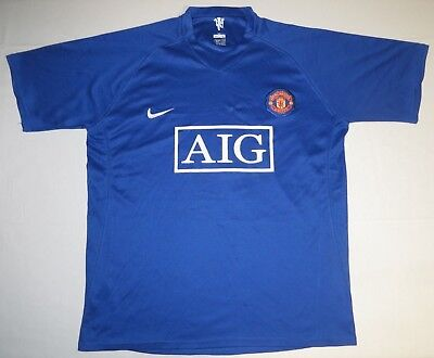Manchester United Football Club AIG Cristiano Ronaldo #7 Jersey Large Nike