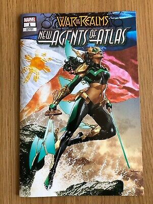 War of the Realms New Agents of Atlas #1 Mico Suayan Store Exclusive Variant NM