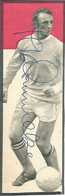 Football Autograph Mike Summerbee Manchester City Signed Magazine Photo F1482