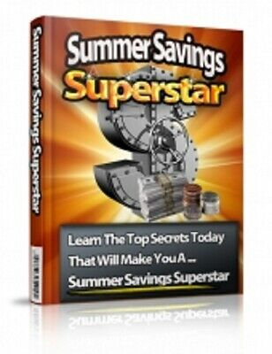 Summer Savings Superstar PDF eBook with Private Label Rights PLR